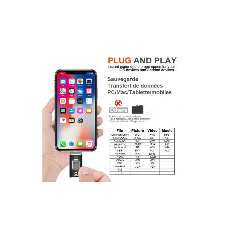USB drive Mobile/PC/Mac