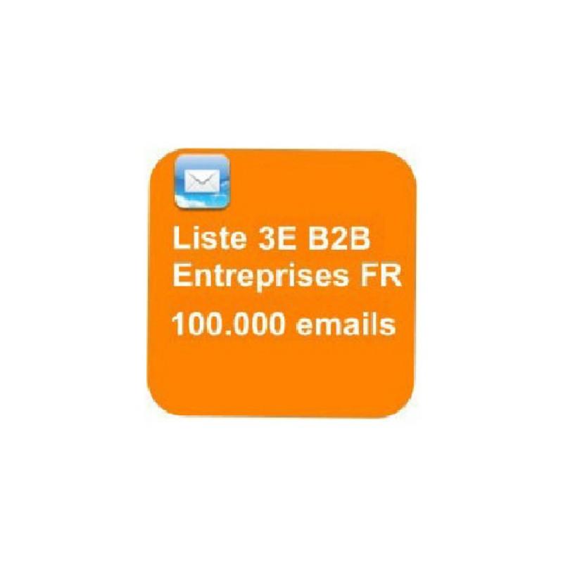 Fichier 100000 emails d'entreprises