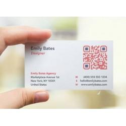 Cartes de visite QR Code